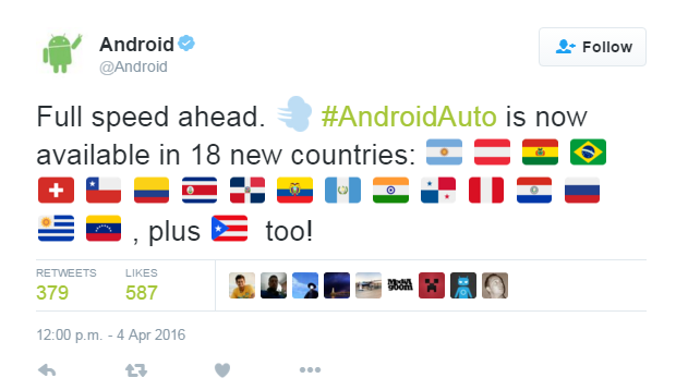 Android Auto comes to 18 new countries including Brazil ...
